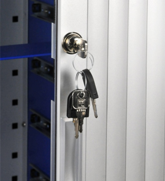 Secure Lock with a set of keys.