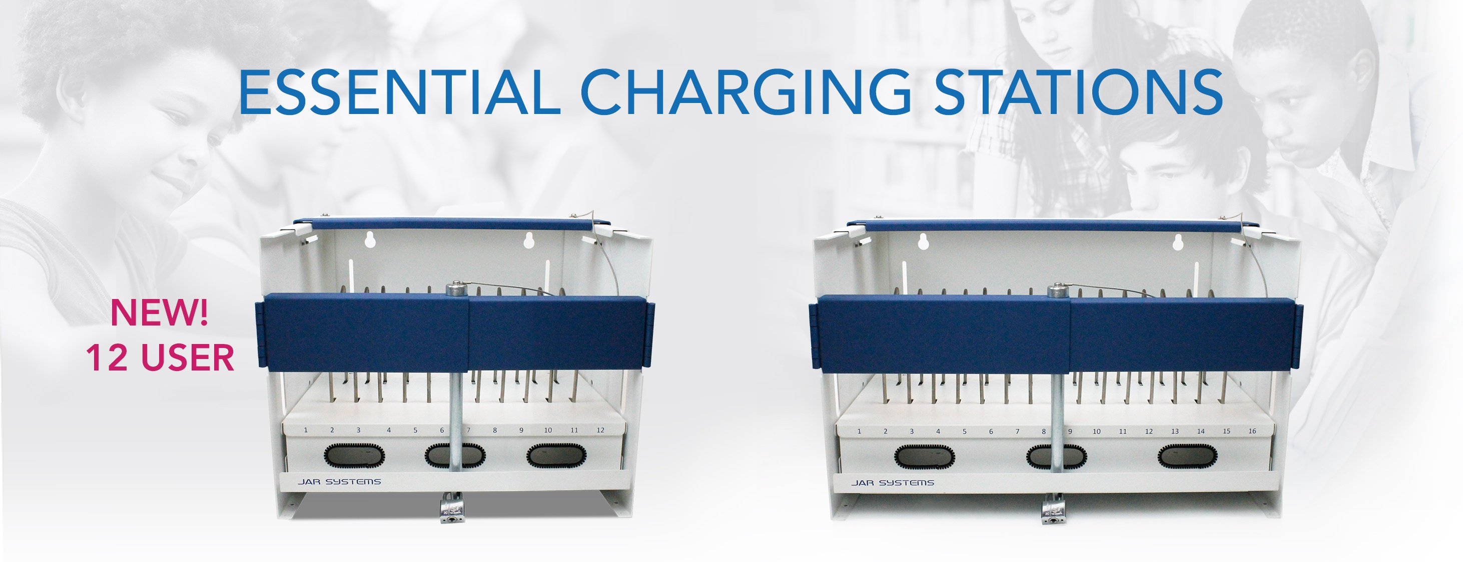 New 12 User Essential Charging Station
