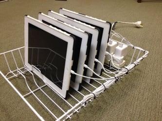 Dish Rack Charging