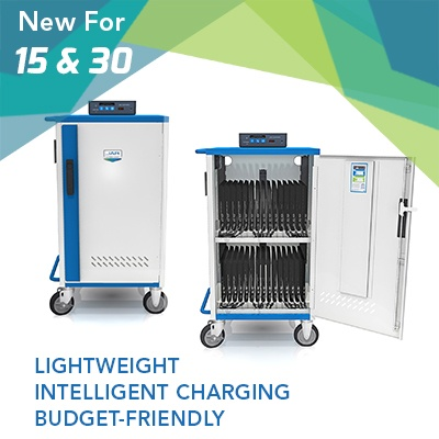 Charge up to the 30 devices with the MD-5130 Ultra-Light Cart.