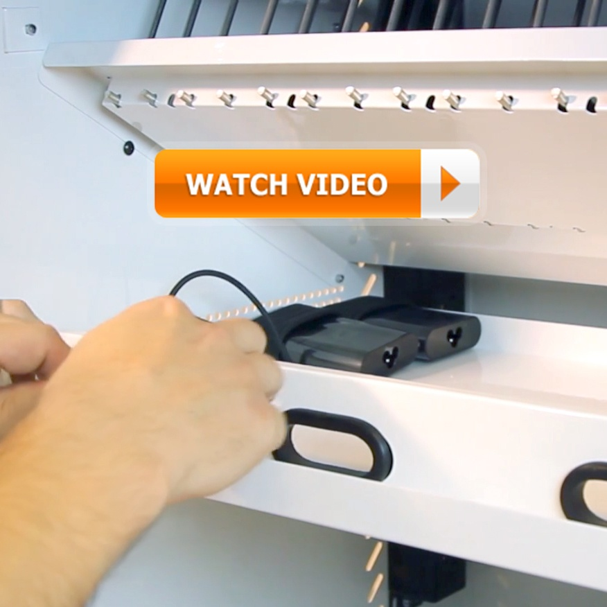 View the MD-5140 Ultra-Light Intelligent Cart Setup and Demo video: