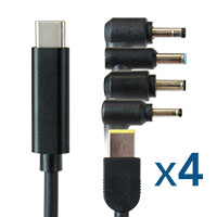 Emulator Adapter Cable 4-Packs