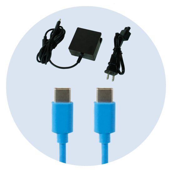 USB-C Power Adapters and USB-C Cables