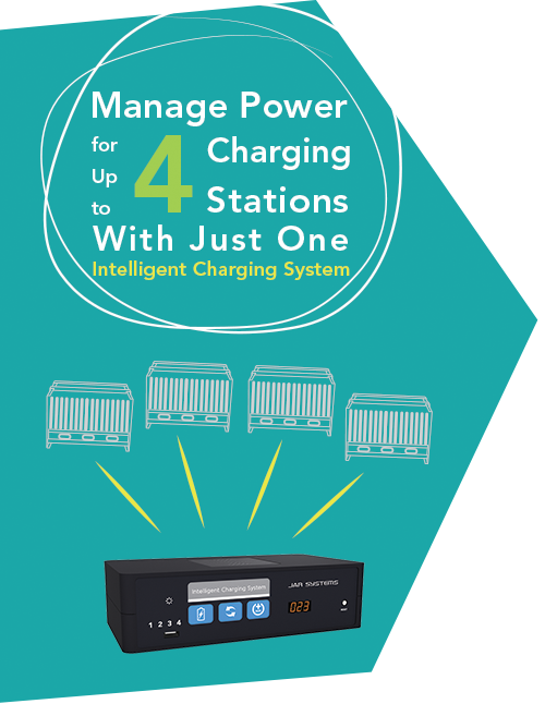 Manage Power for Up to 4 Charging Stations With Just One Intelligent Charging System